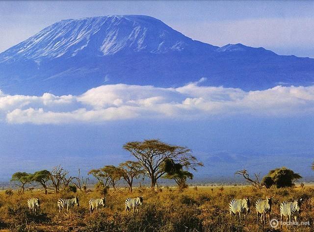 Килиманджаро (Kilimanjaro) в Танзании