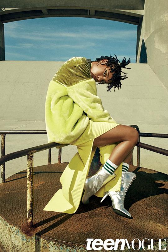 Уиллоу Смит для Teen Vogue