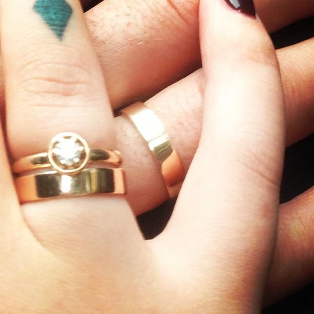 Настя Приходько вийшла заміж