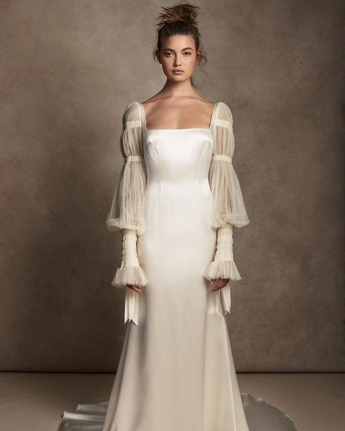Модні легкі сукні на весілля влітку