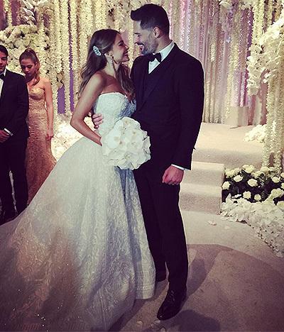 Весільна сукня Софії Вергара