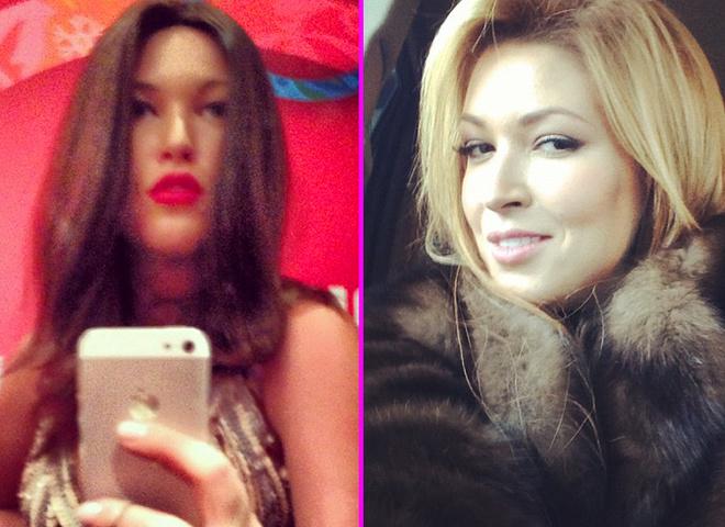 Ірина Дубцова стала брюнеткою