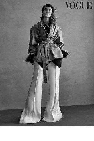 Лілі Олдрідж для Vogue Germany (серпень, 2016)