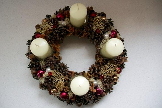 Венок на Рождество своими руками