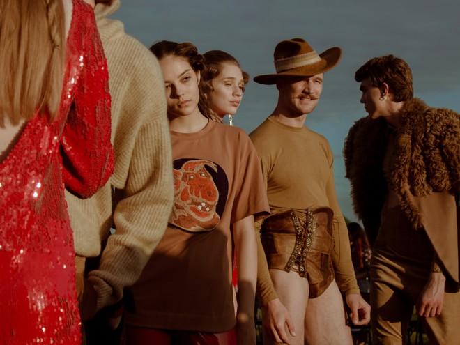Украинский дизайнер Жан Грицфельдт на Frankfurt Fashion Week