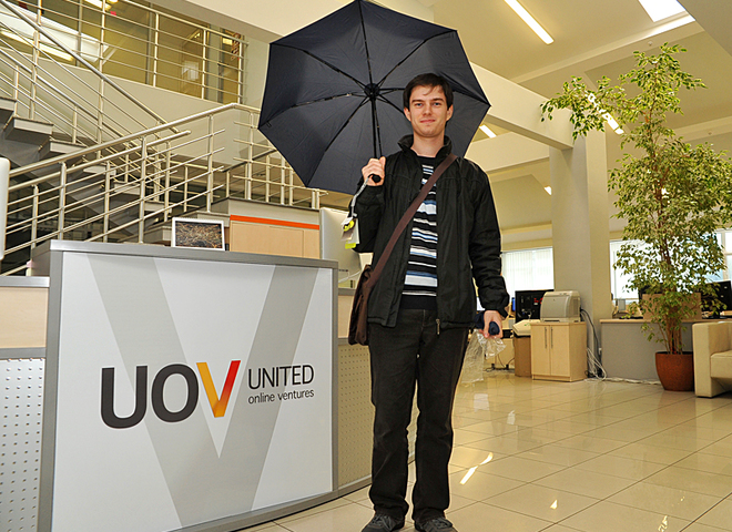 конкурс с зонтами, Samsonite