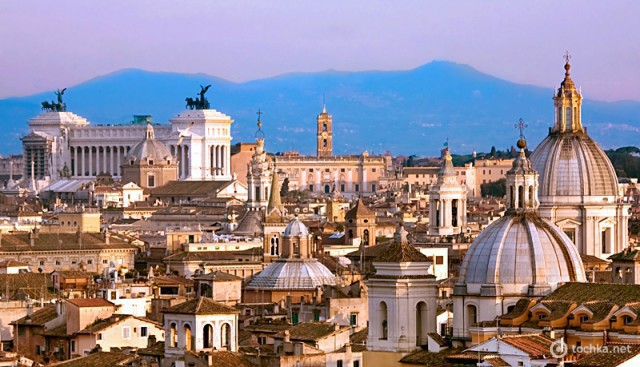 Рим с высоты