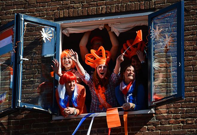 День рождение Королевы Нидерландов