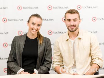 Анна Різатдінова та Олександр Прохоров у гостях у tochka.net