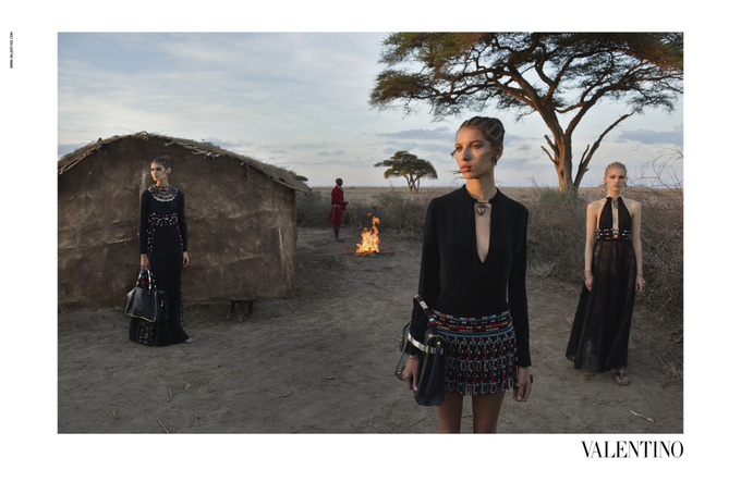 Valentino рекламна кампанія ss 2016