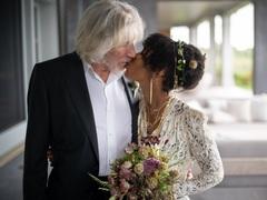 Роджер Уотерс з дружиною Каміллою