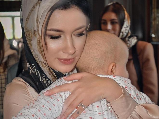 Анастасия Приходько с сыном