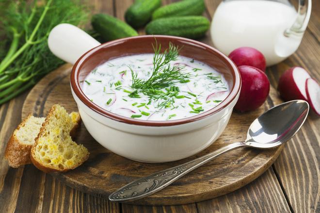 Таратор: рецепт болгарської окрошки