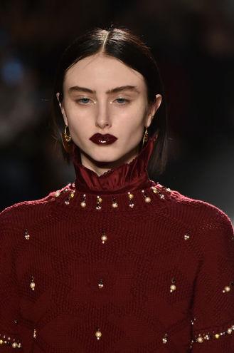 Бьюти-тенденции 2017: цвет бургунди