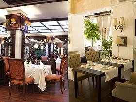 ресторан Прага против ресторана Монако