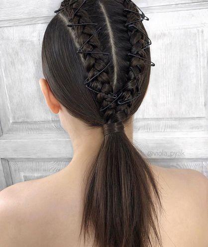Легке плетіння — зачіска на Новий рік 2020