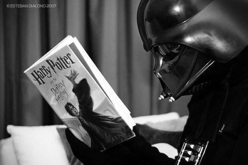 Прикольная картинка про Дарта Вейдера