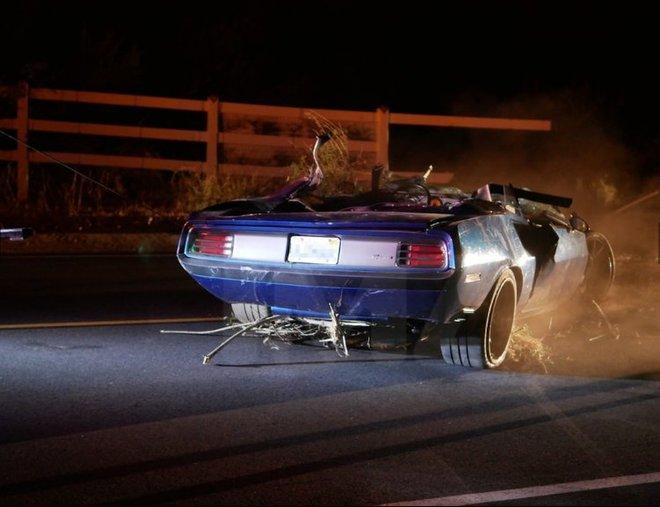 Кевин Харт попал в ДТП: фото с места аварии