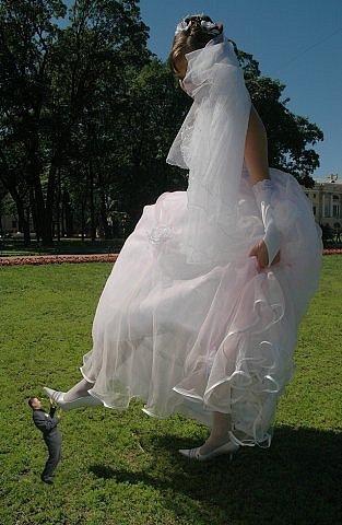 Свадебный мега фотошоп