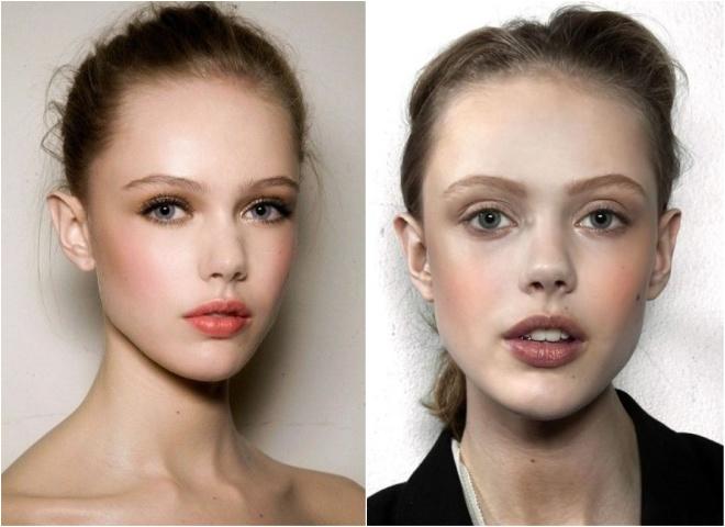 Морозные щёчки и сочные губы: 7 тенденций макияжа в 2020 году