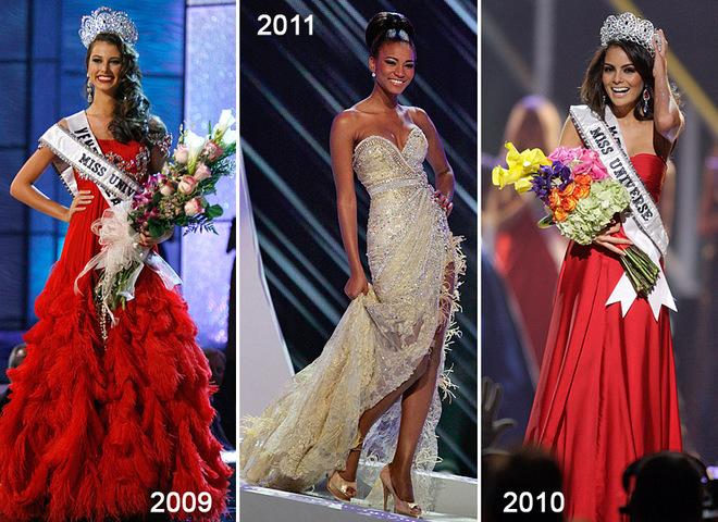 Мисс Вселенная 2011 в центре