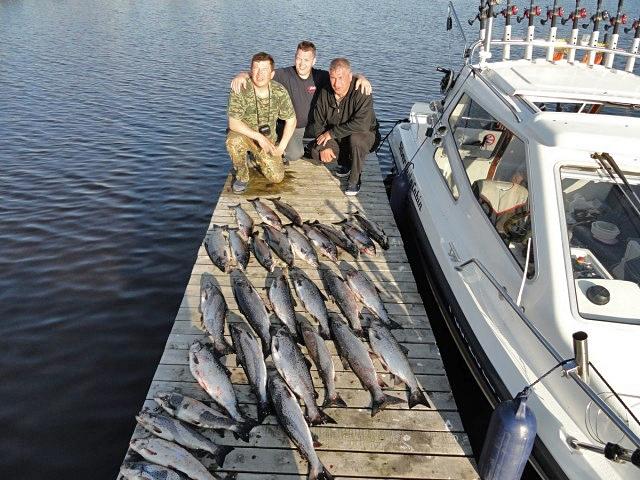 Трофейная рыбалка: Онежское озеро