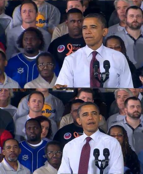 У парня в синей футболке такая классная прическа. Подождите-ка...