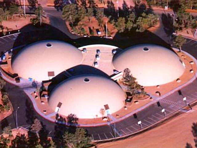 Самі незвичайні школи світу: Школа з монолітних куполів, Арізона, США