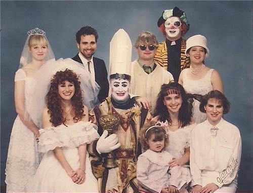 Семейное фото Бой Джорджа