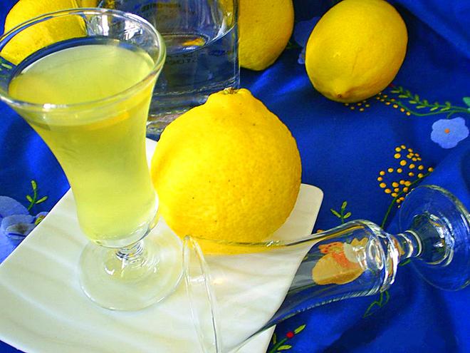 """Алкогольный напиток """"Лимончелло"""""""