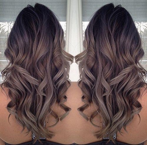 цвет волос модный в 2016 фото