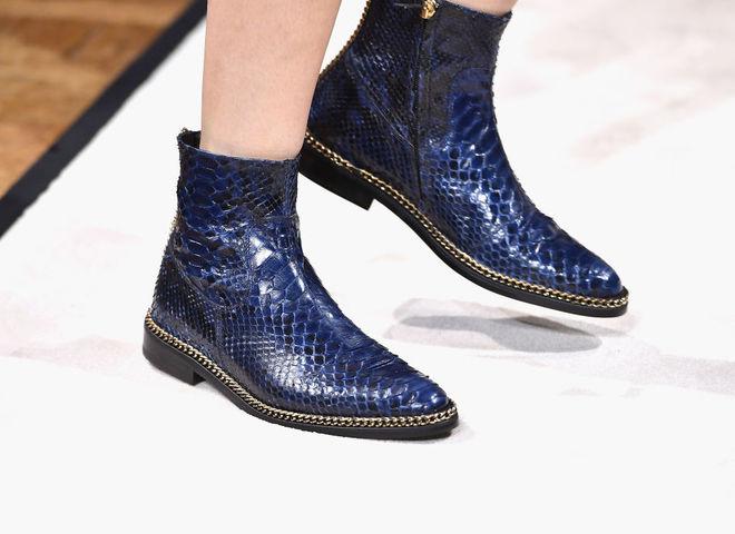 Модная обувь на осень 2017