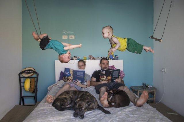 Когда отец Бог фотошопа