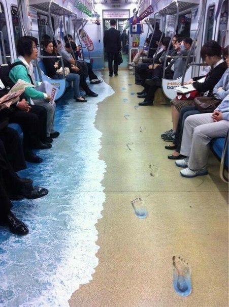 Необычное метро в Сеуле