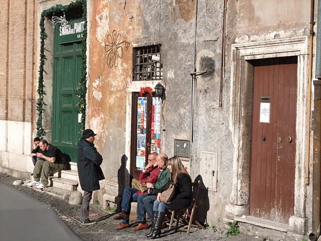 Достопримечательности Рима: Ресторан Sora Margherita