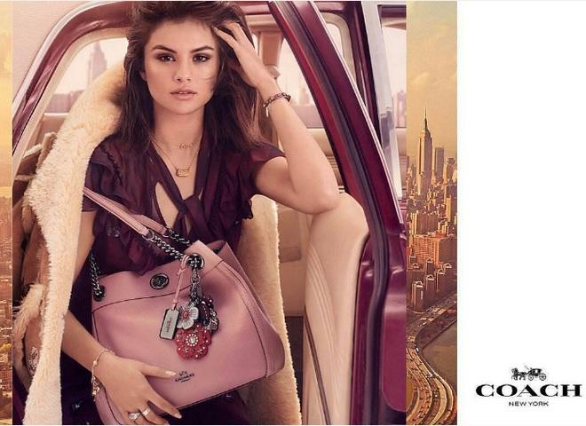 Селена Гомес в рекламній кампанії Coach