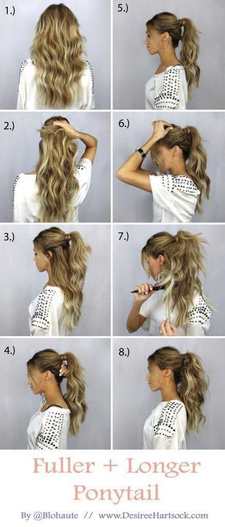 Зачіски на випускний покроково