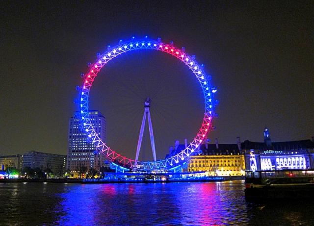 Лондон за два дня: Колесо обозрения