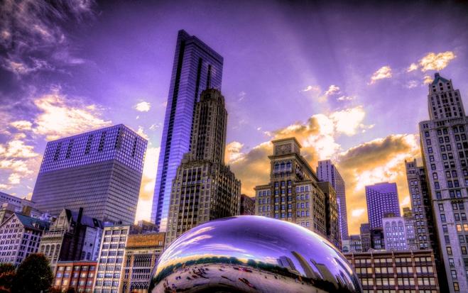 Чикаго – город ветров, небоскребов и больших огней