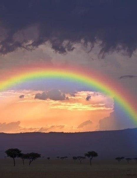 Нереальные фото с радугой
