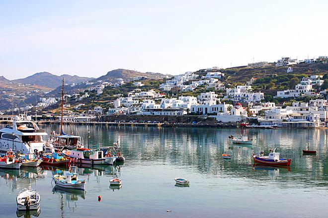 Острова Греции: Миконос