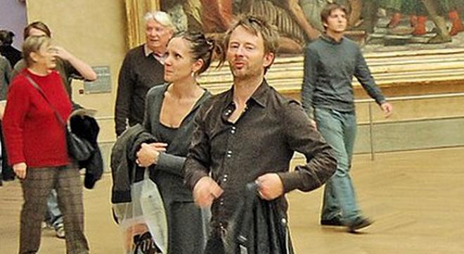 Том Йорк и Рэйчел Оуэнс