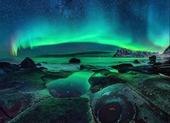 Самое захватывающее природное явление: Северное сияние