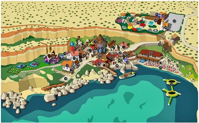 Городок моряка Попая