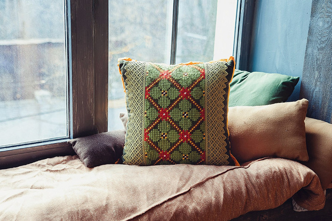 Декоративные подушки Kaanni: вышиваем с удовольствием