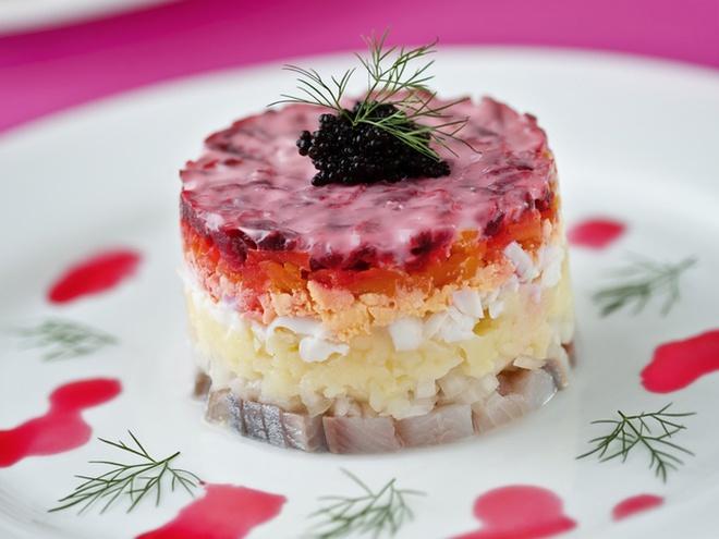 рецепт салат из шубі