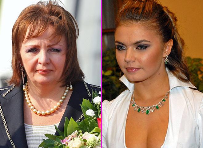 Людмила Путина, Алина Кабаева