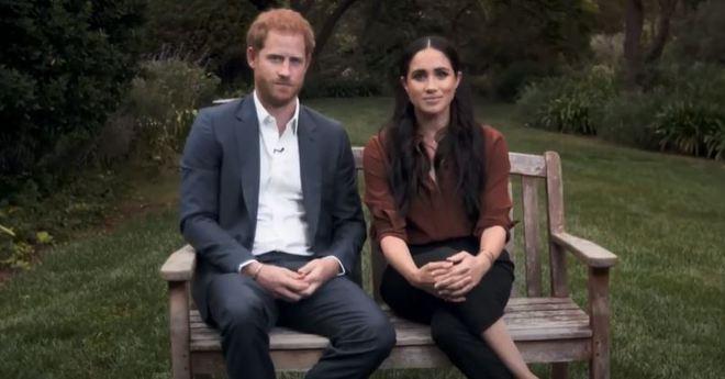 Меган Маркл и принц Гарри на телевидении
