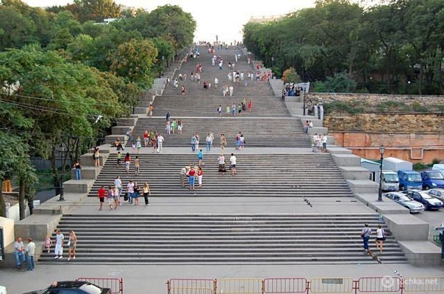 Цікаві місця Одеси: Потьомкінські сходи