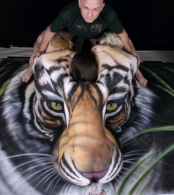Красивые картинки животного боди-арта